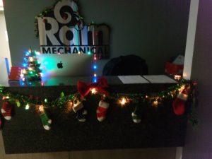 Miranda's office decorations